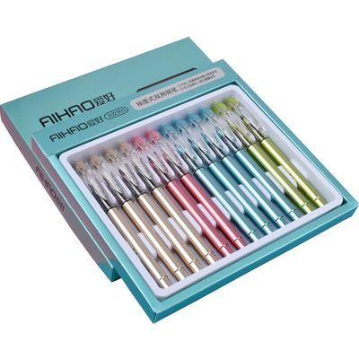 爱好抽墨式换囊式钢笔直液式钢笔特细笔尖可擦墨囊可爱小清新办公
