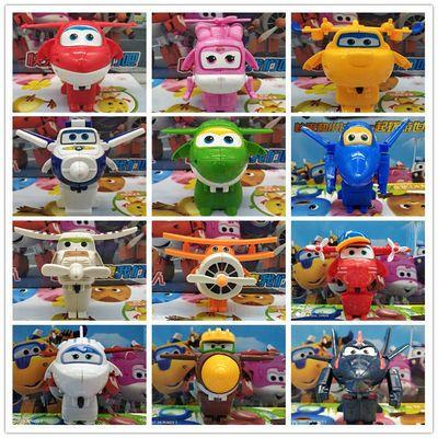 乐迪超级飞侠玩具套装全套12只大号多多可变形机器人