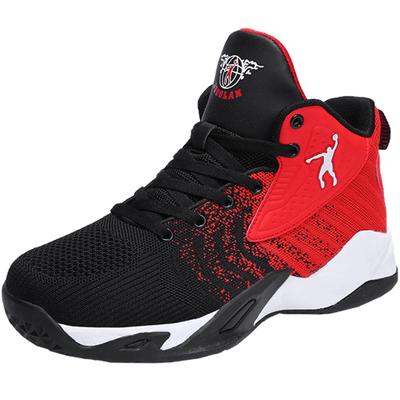 正品 乔丹格兰篮球鞋高帮运动男鞋防滑耐磨轻便透气学生跑步鞋 男