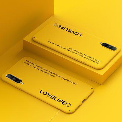 小米cc9e手机壳硅胶网红可爱防摔磨砂新款透明cc9e全包超薄硬壳潮