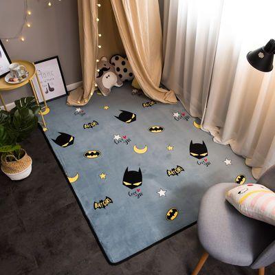 【送小地毯】家用地毯客厅防滑茶几地毯卧室满铺可爱床边房间地垫