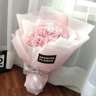520送女友礼物闺蜜生日礼品毕业花束情人节母亲节康乃馨假花礼品