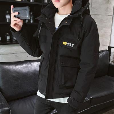 2020新款棉衣男士工装羽绒棉服学生韩版潮流加厚男装棉袄外套