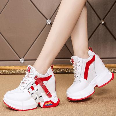 内增高老爹鞋女ins潮春季10cm超高跟2020新款网红超火厚底运动鞋