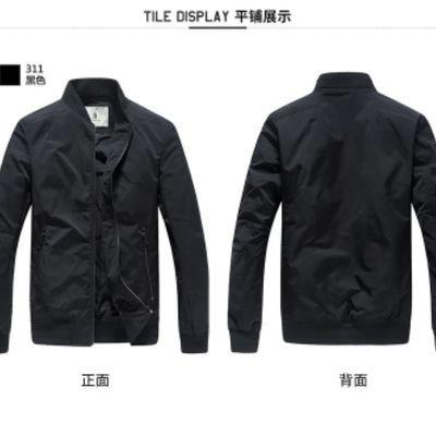 2020新款马克华菲飞行员夹克男士外套韩版潮休闲春棒球服男装