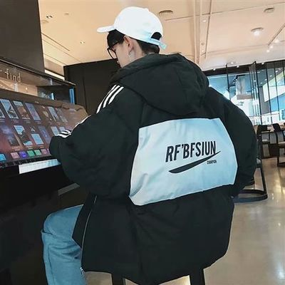 2020新款棉衣外套男士衣服韩版潮流工装帅气学生男装羽绒棉服