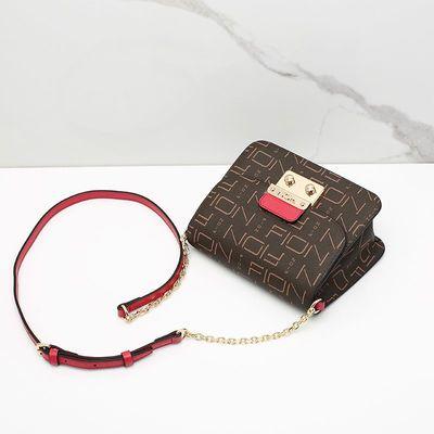 FION/菲安妮新款夏季链条包包 时尚手提小方包 单肩斜挎包女小包