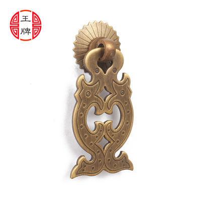 中式仿古家具铜拉手抽屉门拉手青古铜纯铜拉手中药柜子把手五金
