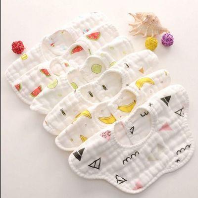 宝宝口水袋围兜防水免洗吃食饭兜婴儿童围嘴口水巾夏小孩喂饭兜