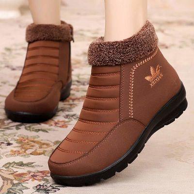 老北京布鞋女棉鞋二棉妈妈鞋老人老太太棉鞋中老年防滑秋冬款鞋子