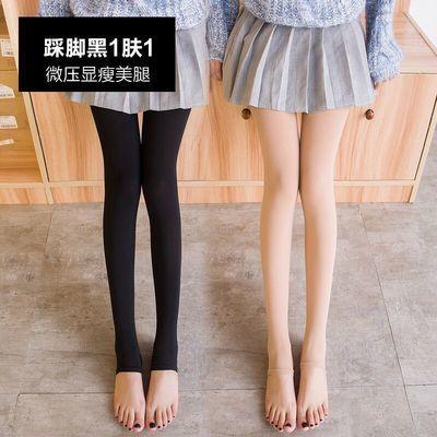 【可选顺丰配送】连裤袜女春夏秋厚薄款光腿神器肤色踩脚�C腿袜肉