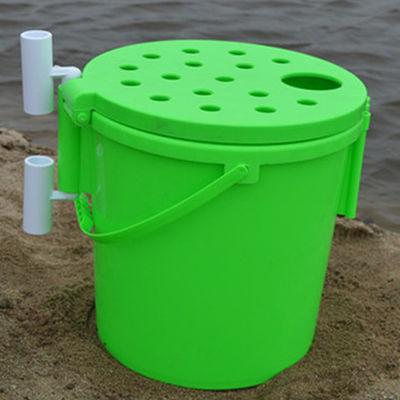 加厚多功能钓鱼桶可坐活鱼桶钓渔具用品多功能钓箱筏钓桶钓桶