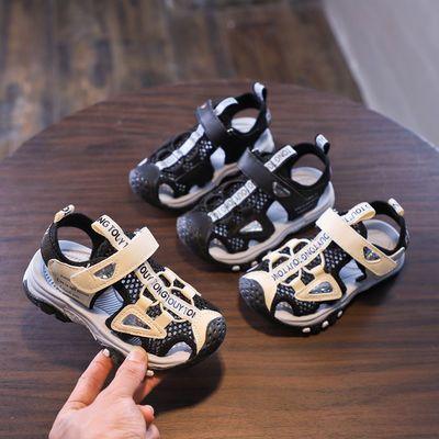 32683/低价男童凉鞋2021款夏季包头韩版中大童防滑软底儿童小孩沙滩凉鞋