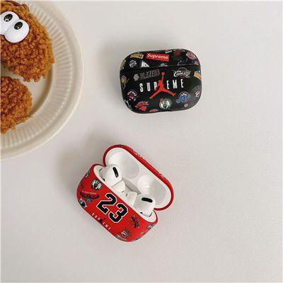 airpods pro保护壳23号球衣NBA热血篮球俱乐部图标乔丹3代耳机套