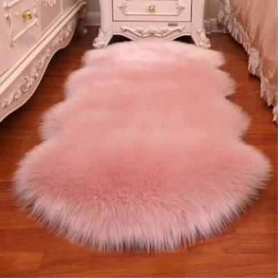 仿羊毛四季长毛绒地毯床边毯客厅卧室满铺榻榻米茶几地垫飘窗垫