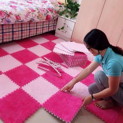 地毯卧室满铺可爱房间地毯全铺拼接eva泡沫床下可坐地垫坐垫网红