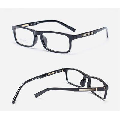 眼镜男近视学生防蓝光变色近视眼镜男有度数商务高档全框潮300度