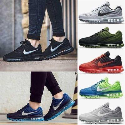 NIKE/耐克顿月男鞋春夏新款AIRMAX全掌气垫网面女鞋运动透气男鞋