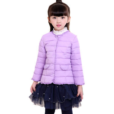 【八零八一】女童轻薄羽绒棉内胆中小童宝宝贴身小棉袄棉服外套