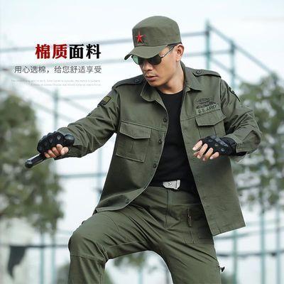 户外户外男士迷彩服套装101空降师军迷服饰纯棉军衬长袖休闲军旅