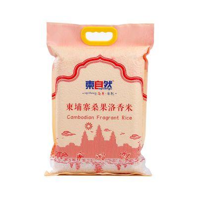 柬埔寨桑果洛香米大米10斤 籼米农家新米长粒香米5kg