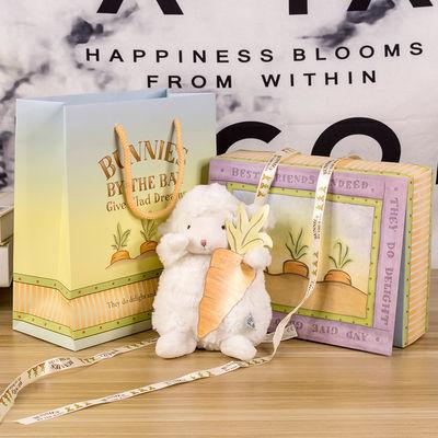 美国bunnies小羊公仔毛绒玩具正版娃娃玩偶抖音同款小坐羊小绵羊
