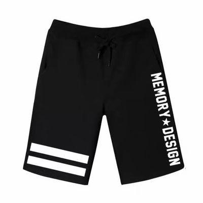 夏季薄款运动休闲短裤男宽松直筒五分裤男潮牌百搭网红ins沙滩裤