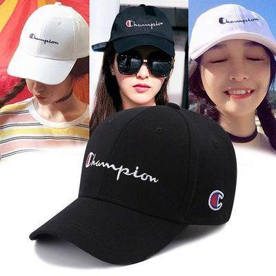 帽子女韩版学生棒球帽时尚百搭鸭舌帽女士潮牌防晒遮阳太阳帽子男