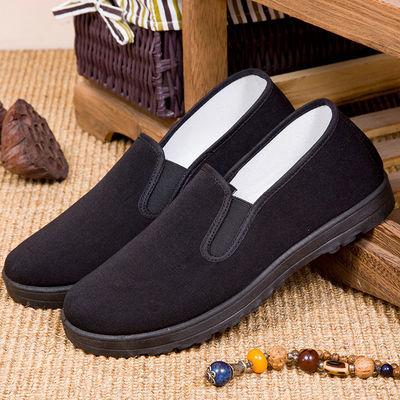 防滑男女冬季棉鞋加厚加绒牛筋底老北京布鞋休闲运动透气中老年人