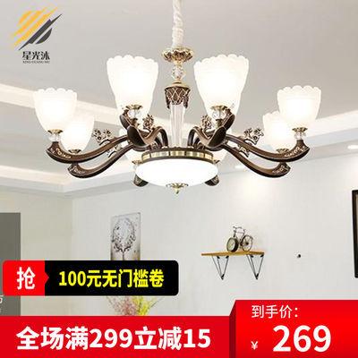 2020新款欧式客厅灯吊灯现代简约奢华大气家用别墅大厅餐厅灯具