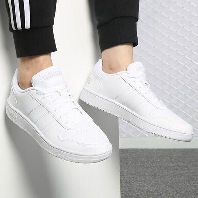 adidas阿迪达斯男鞋 NEO轻便舒适透气运动休闲板鞋小白鞋DB1085