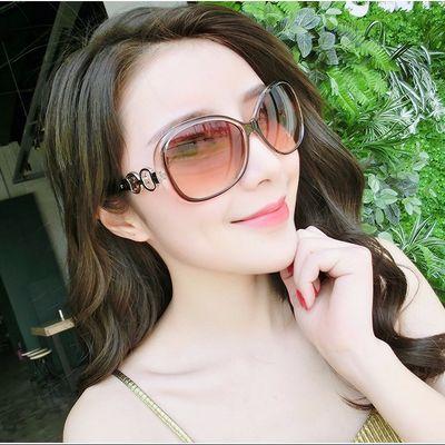 女士偏光太阳镜防紫外线开车墨镜韩版潮网红同款街拍显瘦复古眼镜