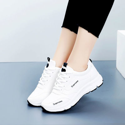 女鞋夏季新款透气运动鞋女网面休闲鞋百搭小白鞋女韩版跑步旅游鞋