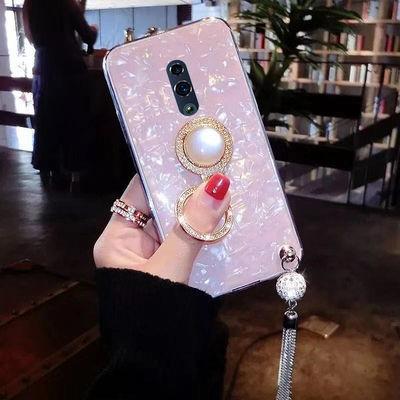 oppoReno手机壳新款女硅胶防摔网红PCAM00保护壳软可爱全包手机套