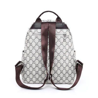 【269抢200件】双肩包女2020新款材质背包书包大容量旅行包书包