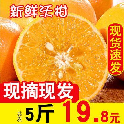 5斤四川沃柑橘子新鲜当季水果整箱蜜桔甜特产砂糖皇帝贵妃丑皮薄