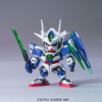 包邮Q版战士模型SD 独角兽零零00量子七剑飞翼拼装玩具手办BB高达
