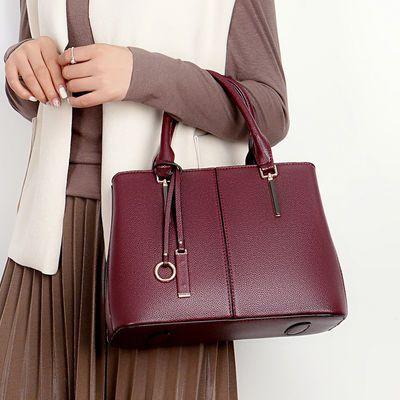 女士包包新款2020时尚真皮女包大容量手提包软皮手拎包气质牛皮包