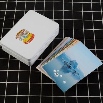 照片定制diy卡片打印制作lomo小卡ins简约明信片生日礼物 应援卡