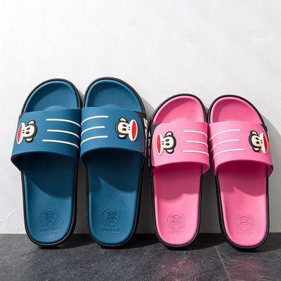 大嘴猴拖鞋夏男女情侣浴室洗澡地板居家防滑潮流拖鞋女亲子凉拖鞋