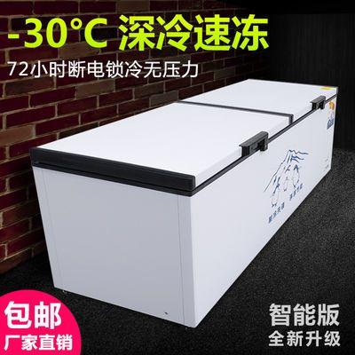 冰柜商用大容量冷藏全冷冻单温双温小型铜管速冻超市节能家用冰柜拼多多优惠券领取