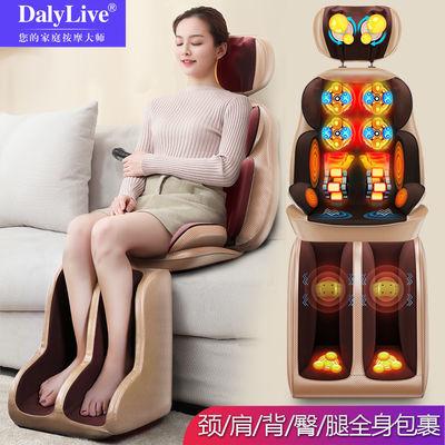 颈椎按摩器枕头颈部肩部腰部背部臀部按摩垫老人家用全身按摩椅