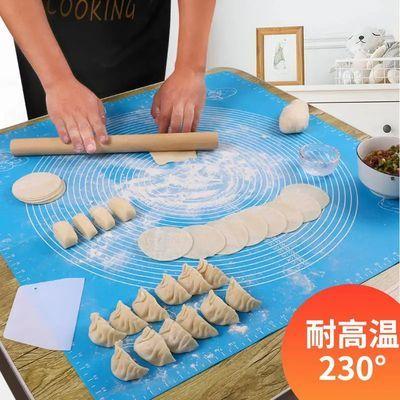 大号防滑食品级硅胶垫揉面垫不沾饺子案板擀面垫子和面板家用厨房