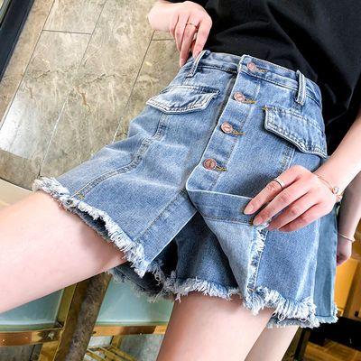 防走光裙裤牛仔裙女2020新款春夏女装短裙a字半身裙子女学生韩版