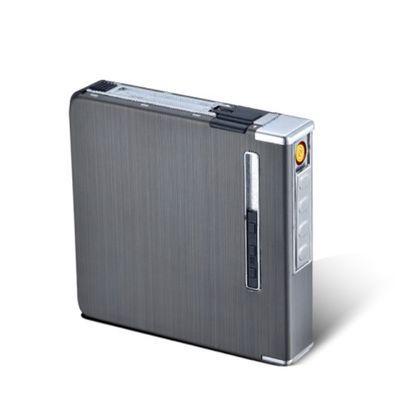 【送电热丝】20支装充电/充气自动弹烟烟盒打火机一体防潮防挤压