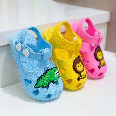 儿童包头防尿学步鞋夏季婴儿软底 0-1-2-3男女童宝宝居家防滑凉鞋