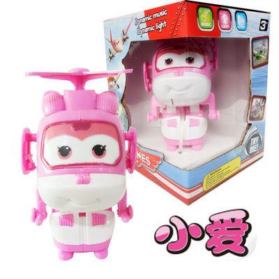 大号超级飞侠套装全套乐迪小爱多多变形机器人工程车儿童益智玩具