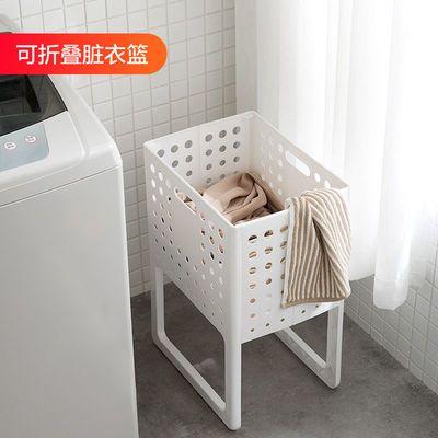 日本可折叠脏衣篮大号脏衣服收纳筐手提浴室脏衣篓家用衣物储物筐