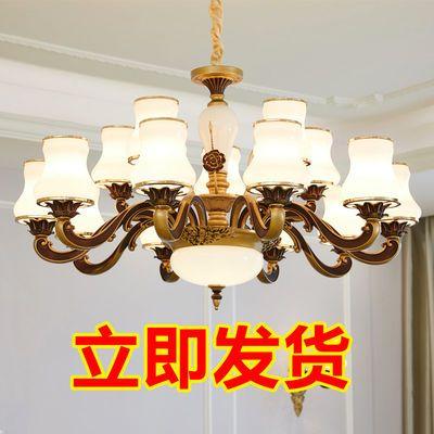 客厅欧式吊灯客厅灯饰简欧餐厅灯奢华大气家用卧室灯简约现代灯具
