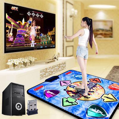 康丽跳舞毯电脑家用单人无线瑜伽游戏跳舞机